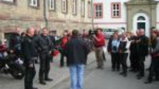 Stopp am Kloster Lamspringe