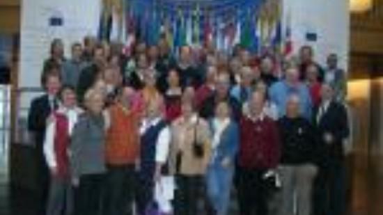 Offizielle Besuchergruppe Oktober 2009