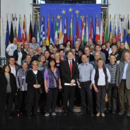 20120313 Besuchergruppe Straßburg