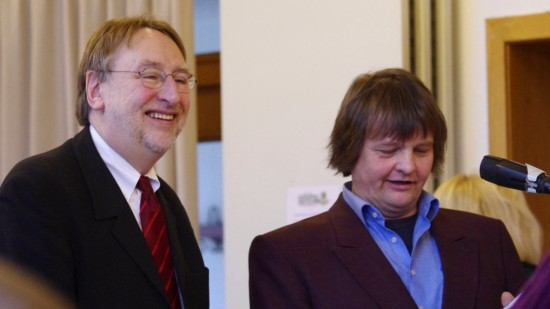 Bernd Lange und Andreas Rakowski