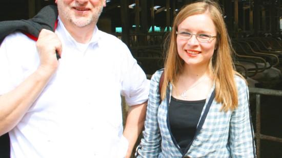 Bernd Lange und Dr. Dörte Liebetruth