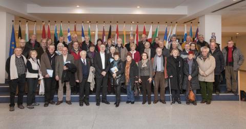 Besuch aus Celle im Europäischen Parlament