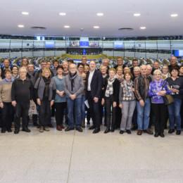 Ein Besuch des Europäischen Parlaments
