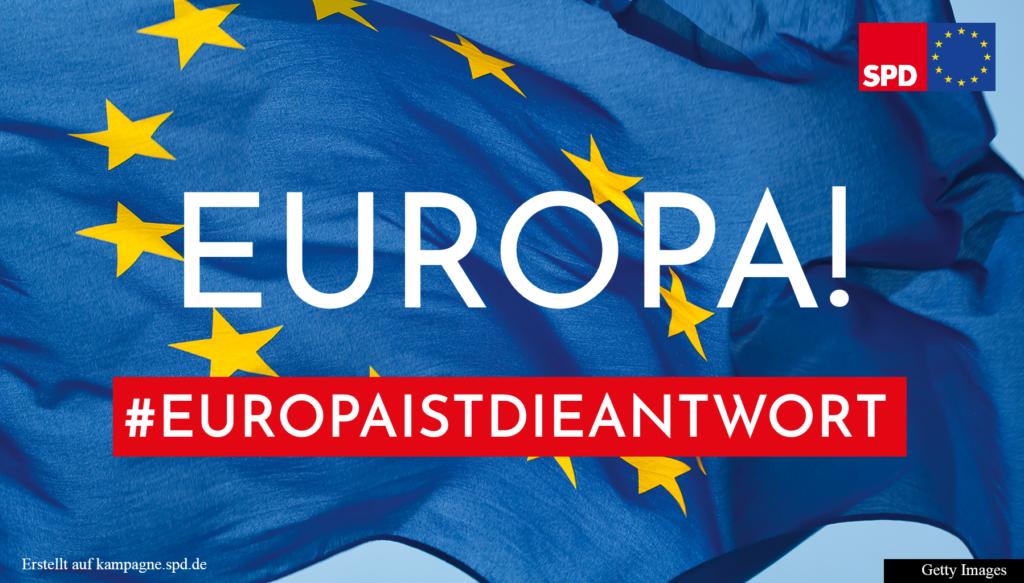 180419 Europa ist die Antwort Banner