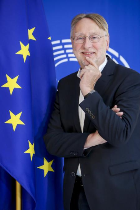 Pressefoto EU-Fahne