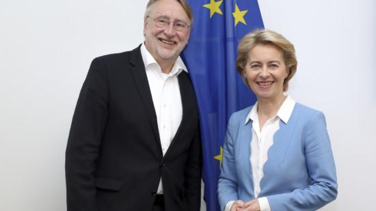 Bernd Lange Ursula von der Leyen