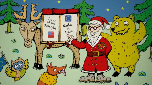 Weihnachtskarte von Bernd Lange 2019