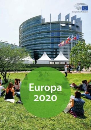 Titelbild der Broschüre Europa 2020