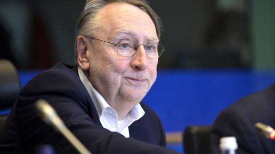 Bernd Lange im Europäischen Parlament