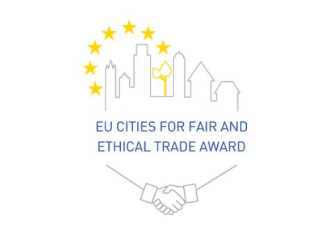 Logo des EU Cities for fair and ethical trade award