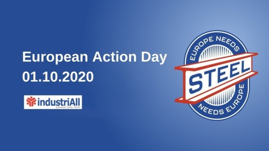 Logo IndustriAll EU