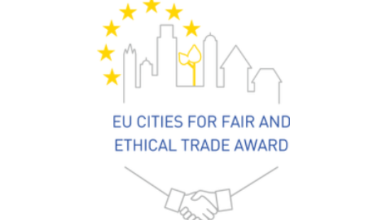 Logo des EU Cities for fair and ethical trade award