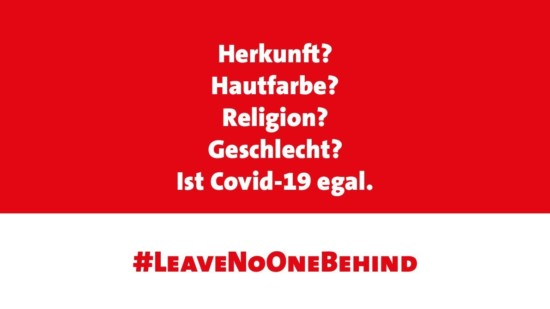 Sharepic Leave No One Behind der SPD Europaabgeordneten