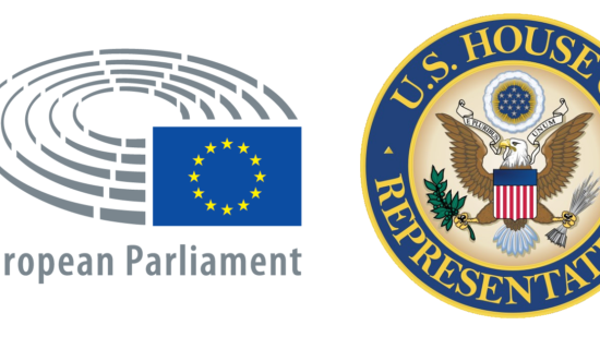 Transatlantic legislators dialogue Logos