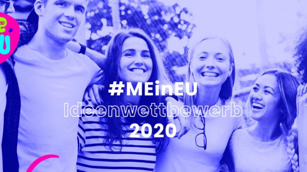 Logo des Ideenwettbewerbs #MEinEU 2020