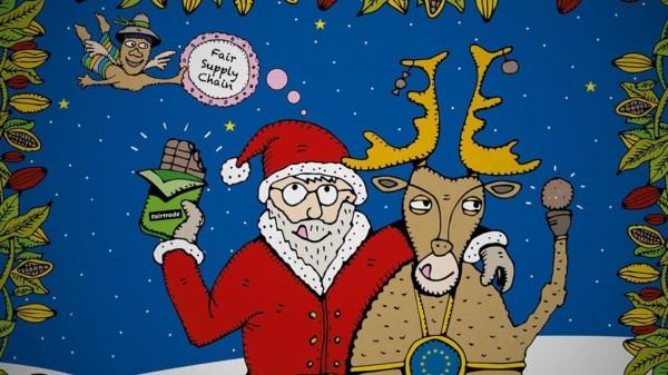 Weihnachtskarte BL