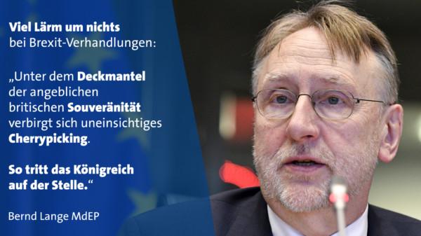 Bernd Lange Brexit