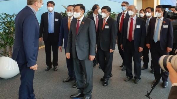 Vietnam Visit National Delegation